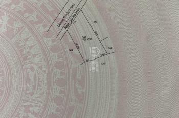 Bán gấp mảnh đất Tỉnh lộ 823, gần ngã tư thị trấn Hậu Nghĩa, huyện Đức Hòa, tỉnh Long An
