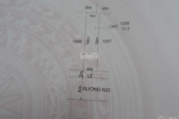 Bán 72m2 đất khu đô thị Cát Tường Phú Sinh, Mỹ Hạnh Đức Hòa, Long An, sổ hồng riêng