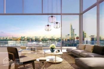 Bán căn góc 3PN, 107m2, căn hộ Masteri Millennium, nội thất cao cấp, view sông, Bitexco, Quận 1