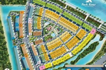 Bán nhà phố khu Park River diện tích 75m2, nhà đã hoàn thiện đẹp, giá 6,2 tỷ bao phí. LH 0948014568
