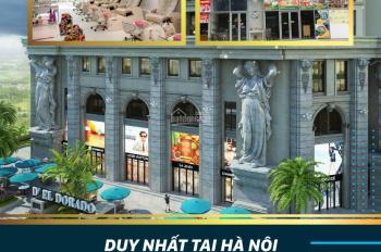 Mở bán Shophouse D' EL Dorado duy nhất tại Hà Nội - Mua 2 tầng được sử dụng 3/4 tầng - 0918.60.6666