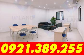 Văn phòng 55m2 tại Ngã Tư Sở, full DV, sử dụng ngay, vị trí đẹp, có xuất VAT, LH: 0921.389.255