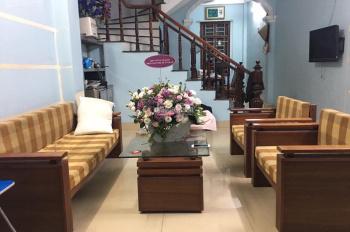 Cho thuê nhà riêng mặt ngõ 259 Định Công, gần hồ, trường học, gần chợ, giao thông thuận lợi