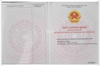 Anh bán gấp đất nền sổ đỏ Hồ Tràm Xuyên Mộc - Bà Rịa Vũng Tàu. LH 0904041732