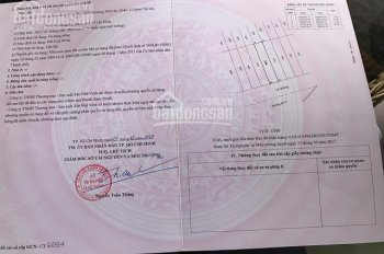 Chính chủ bán đất MT Lê Thị Riêng, Thới An, Q12, ngay bưu cục Q12, SHR, 2,5tỷ, 100m2 LH: 0937729660