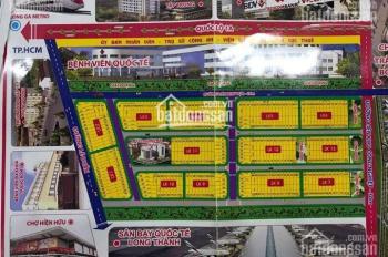 Cần bán nhanh lô đất ngay thị trấn Trảng Bom, Đồng Nai, đã có sổ hồng, DT 95m2, LH 0938450279