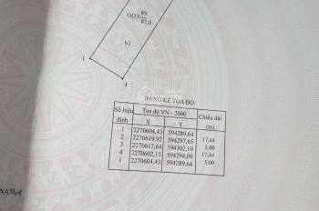 Bán nhà mặt đường Lý Thái Tổ, Tp. Phủ Lý. Diện tích 87m2