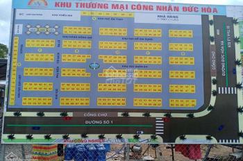 Bán ki - ot chợ đêm Long An - ngay KCN Tân Đức - H. Đức Hòa - Tỉnh Long An. Giá 420tr/ki - ot