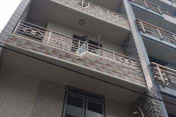 Cho thuê nhà mặt tiền 5 tấm đúc, mới xây 100% đường Lê Tuấn Mậu, P. 13, Q. 6