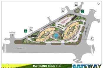 Bán căn hộ 2PN 2WC,gateway 79m2, tại Vũng Tàu, chỉ 1.59 tỷ. Tầng thấp