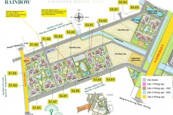 Hàng hot ngoại giao, cần ra gấp giá gốc căn 1 - 2PN Vinhomes Grand Park, Quận 9, LH PKD 0902843977