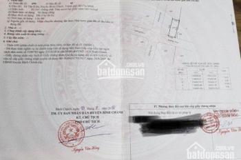 Cần bán đất ở mặt tiền Nguyễn Đình Kiên, Tân Nhựt, Bình Chánh, sổ riêng 900tr/nền, Hiếu: 0902680537
