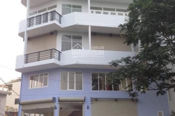 Cho thuê nhà mặt tiền đường Trường Sa, p14, Q3 14x9m (1 hầm, 6 lầu có thang máy) giá 70 tr/th