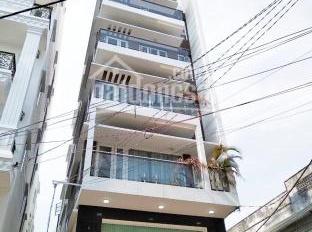 Cho thuê nhà góc 2 mặt tiền Ngô Quyền, DT 4x18m, trệt 6 lầu, thang máy. Siêu vị trí