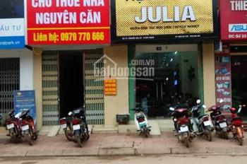 Cho thuê nhà mặt phố làm văn phòng, cửa hàng kinh doanh tại trung tâm thành phố Bắc Giang