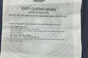 Cần bán nhà đường Lê Đình Chi (Kênh A), xã Lê Minh Xuân, Huyện Bình Chánh, LH:0901706903 Tân