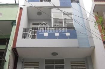 Cho thuê nhà góc 2 mặt tiền Ngô Quyền. DT 4x18m, Trệt 6 lầu, thang máy, siêu vị trí