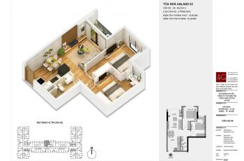 Bán chung cư giá gốc chủ đầu tư, diện tích 54m2, 2PN 1.497 tỷ ngay tại Tố Hữu - Hà Đông
