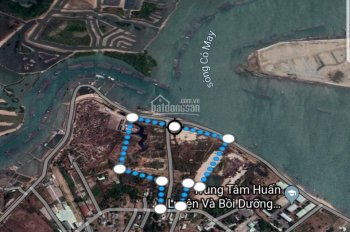 Đất làm dự án ở TP Vũng Tàu, mặt tiền đường hiện hữu 8m, view sông, pháp lý, sổ sách đầy đủ