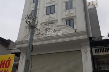 Cho thuê nhà mặt phố Trung Kính to Cầu Giấy. DT 105m2 x 6T, mặt tiền 6m có thang máy, giá 50tr/th