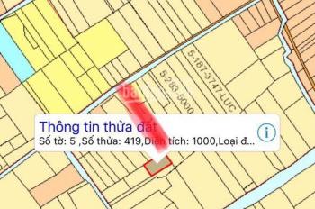 GĐ cần tiền bán gấp lô đất Phước Khánh đường ô tô 1,8tr/m2, DT 1000m2, LH 0938 253 386