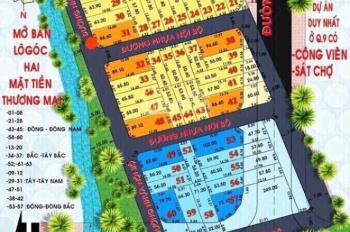 Bán lô góc khu dân cư Trường Lưu, hẻm hông chợ Long Trường, Q9, giá mềm cho khách an cư đầu tư