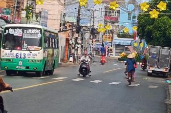 Cho thuê nhà nguyên căn mặt tiền đường Nguyễn Văn Tiết, Lái Thiêu, Thuận An. 5x20m, 3 lầu