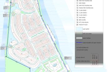 Bán gấp lô biệt thự Marine City Cửa Lấp 12.5tr/m2