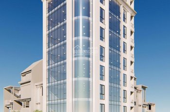 Bán nhà mặt phố Phạm Tuấn Tài, gần Học Viện Kỹ Thuật Quân Sự, 145m2 x 8 tầng thang máy, 0989864579