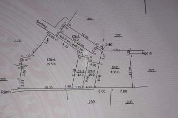 Bán đất gần đại học Thành Đô, ngay cổng chào Hoài Đức sẽ lên quận vào 2020, 0968080860