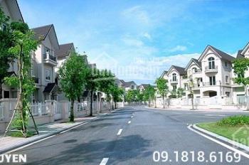Chính chủ bán lại lô góc siêu đẹp BT5 biệt thự Ngoại Giao Đoàn, DT 276m2, giá 185 triệu/m2