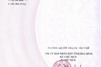 Cần bán đất cơ sở sản xuất kinh doanh 7775m2 thị trấn Lương sơn, Hoà Bình