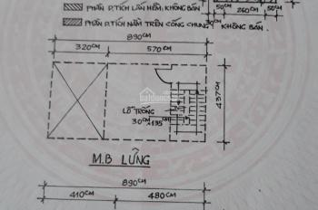Bán nhà hẻm xe ba gác 3m Lê Quang Sung, Phường 6, Quận 6