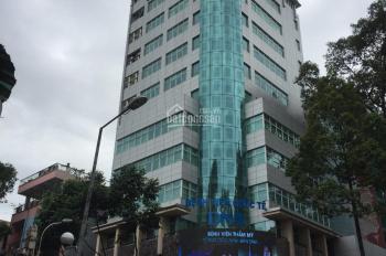 Cho thuê nhà mặt tiền đường Trường Sa, P14, Q3 14x9m, 1 hầm, 6 lầu có thang máy, giá 70 tr/th