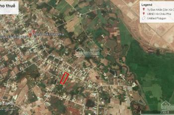 Cho thuê đất mặt tiền đường Hắc Dịch - Châu Pha DT 4800m2