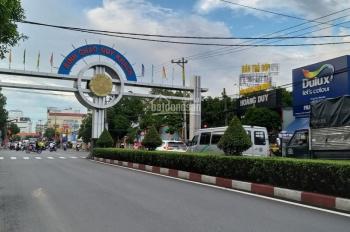Cho thuê đất ngay góc 2 mặt tiền đường Nguyễn An Ninh, Dĩ An, diện tích: 14x20m, 0899889959 Long