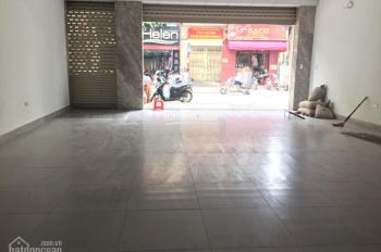 Cho thuê nhà mặt phố Tôn Đức Thắng DT 80m2 x 3 tầng, MT 5.2m, thông sàn, nhà đẹp. LH 0936030855