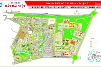 Chuyên bán đất nền nhà phố, biệt thự tại An Phú An Khánh, quận 2, sổ đỏ