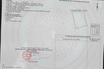 Mở bán 55 nền đất nghỉ dưỡng khu homestay Bà Rịa Vũng Tàu sát biển nền 500m2 giá chỉ từ 1.8tr/m2