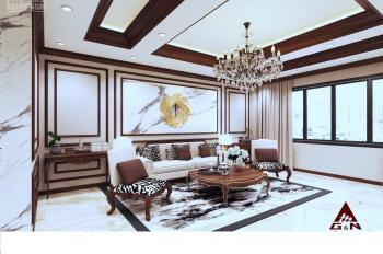 Tôi cần bán nhà mặt phố  Trung Hòa,Trung Yên 11. DT 130m2 x 6 tầng, thang máy, lô góc, MT 6m, 35 tỷ