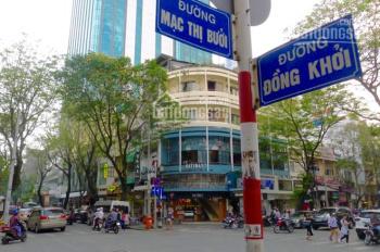 Cho thuê nhà nguyên căn mặt tiền đường Mạc Thị Bưởi, Quận 1. DT: 5x23m, 1 trệt 1 lầu
