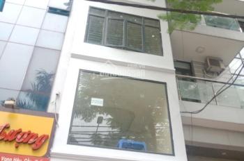Cho thuê nhà mặt phố Vũ Trọng Phụng, Quận Thanh Xuân. DT 50m2*7 tầng, thông sàn, thang máy, 45tr/th