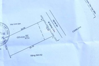 Bán đất mặt tiền Mỹ Phước Tân Vạn gần vòng xoay, DT 13x30m thổ cư 100%