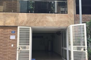 Cho thuê tầng 1 dãy 2 phố Nguyễn Khả Trạc, 60m2, mặt tiền 5m. Giá 7 tr/tháng