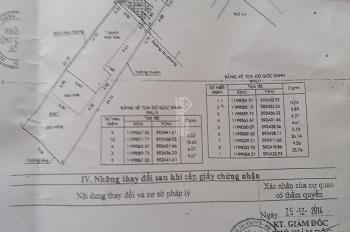 Cần bán nhà mặt tiền đường Phan Văn Hớn, gần chợ Bà Điểm