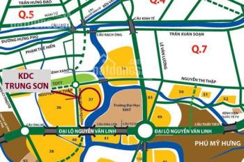 Bán 3 lô đất KDC Trung Sơn, Bình Hưng, Bình Chánh. Giá chỉ 1,6tỷ/nền, Xây dựng tự do, LH 0931022221