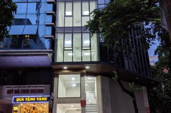 Cho thuê nhà MP Trần Quang Diệu 55m2x7 tầng, mt 5m, giá 90tr/th, nhà mới xây, có thang máy