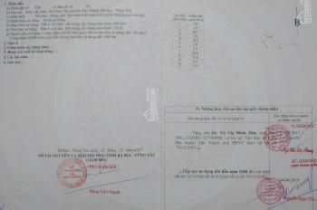 Đất chính chủ bán Châu Pha, Phú Mỹ, Bà Rịa Vũng Tàu