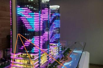 Bán căn hộ mặt biển Nha Trang dự án La Luna đối diện bến du thuyền giá 2.3 tỷ, full nội thất