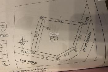 Chính chủ cần bán lô góc đẹp khu ĐT Lê Hồng Phong 2
